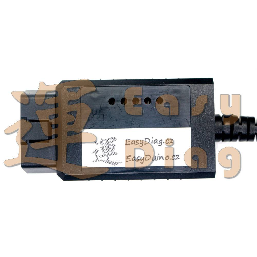 PROFI ELM327 500kbaud FTDI FT232 + PIC18F25K80, CAN BUS USB diagnostický kabel v1.4