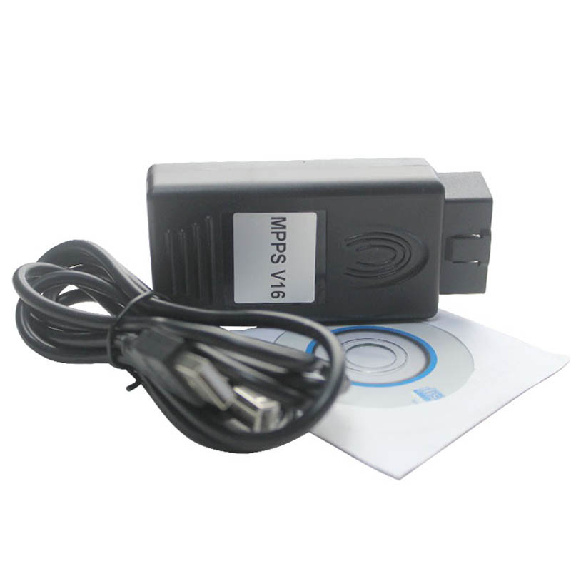 MPPS FLASHER V16 K+CAN CAN FLASHER CHIP TUNING OBD2 EDC16 MED9.X
