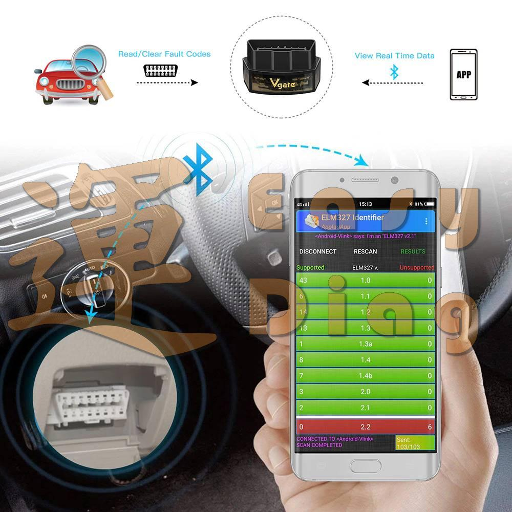 ICAR Pro ELM327 V2.1 pro TORQUE, FORSCAN, CAN BUS WIFI Android, iPhone