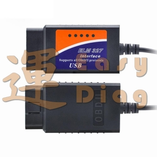 PROFI ELM327 FTDI FT232 + PIC18F25K80, CAN BUS USB diagnostický kabel ELM327 v1.4 1.4